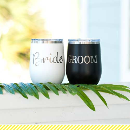 bride-groom-cups