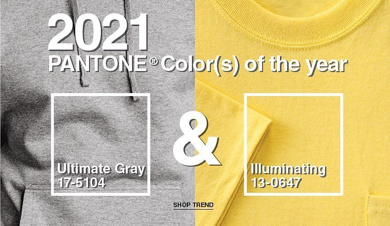 Pantone's 2021 colors of the year!